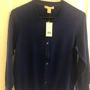 Banana Republic Cobalt Blue Cardigan M
